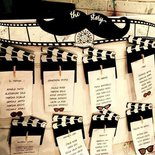 TABLEAU MARIAGE Tema CINEMA BLACK AND WHITE MOUSTACHE