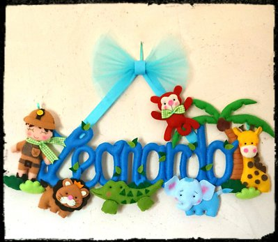 Banner giungla bambino