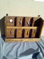 Scaffale Porta chiavi da parete