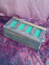 Bauletto in legno gioco delle carte