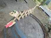 Gioco in legno Drago estensibile