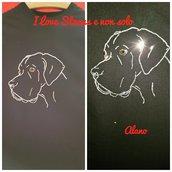 T-shirt Strass Alano