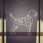 T-shirt Strass Boxer