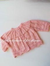 Maglietta coprifasce neonata in rosa