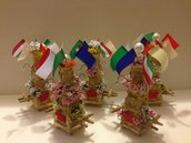 Bellissime candelore in miniatura
