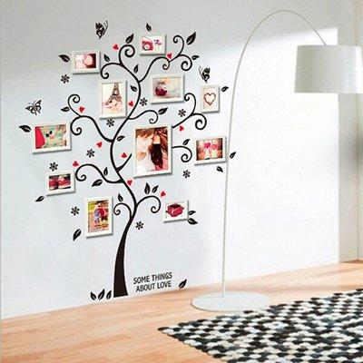 Adesivo sticker per parete albero dei ricordi wall for Stickers pareti