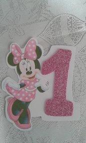 Invito compleanno Minnie