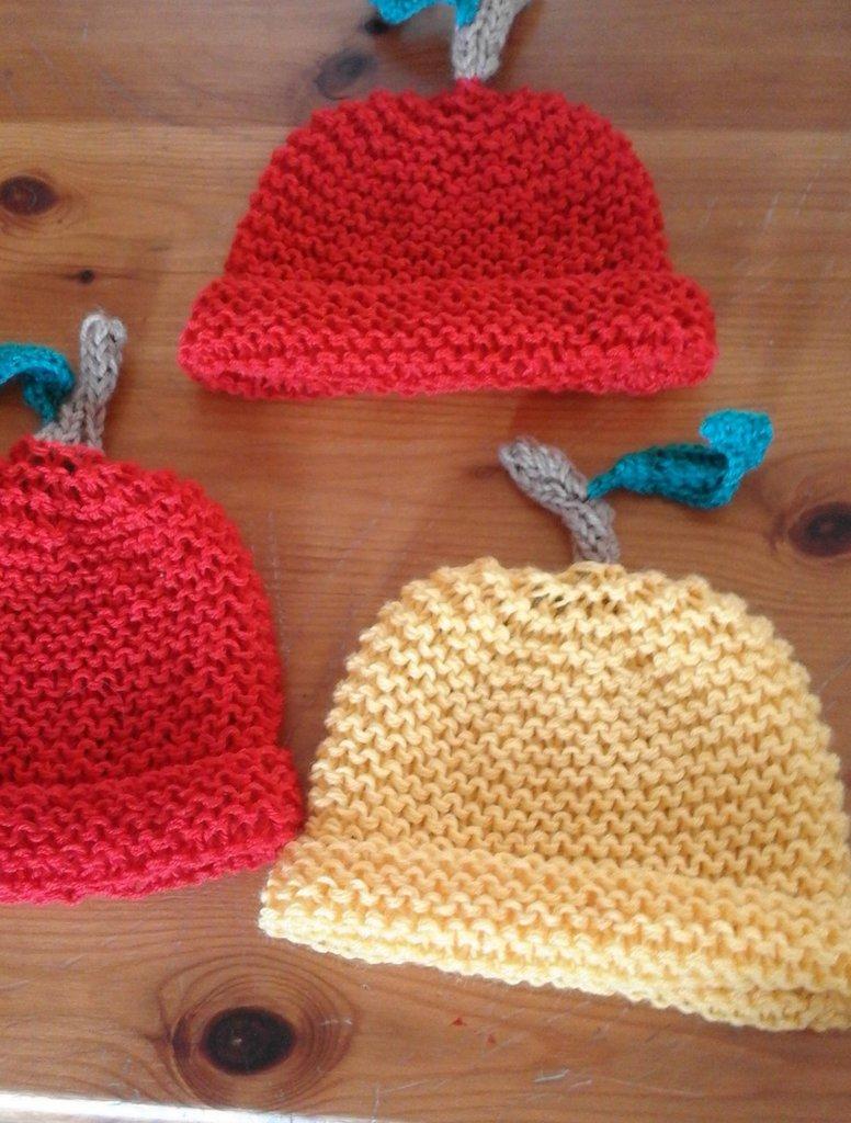 coppia cappelli mela