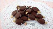 Gelato Cremino cioccolato ciondolo fimo kawaii charm pendente materiale bigiotteria cibo dolci