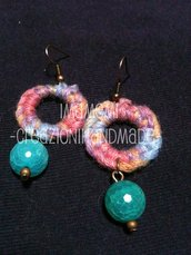 Wool Earrings