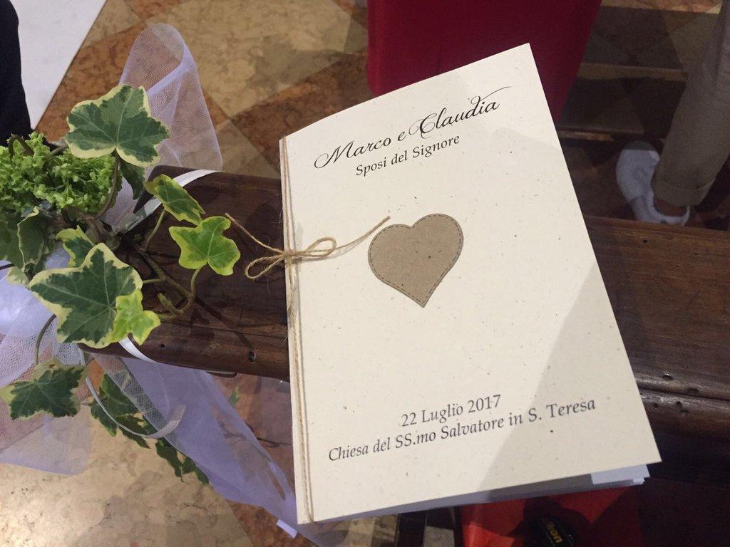 Libretto Messa Matrimonio Country Chic : Libretto messa country chic tema viaggio mare