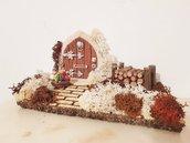 Porta in miniatura, decorazione da parete, idee regalo originali