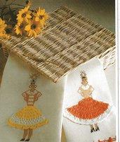Schema punto croce  ,asciugamani,danzatrice di samba