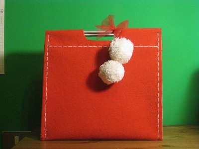 Borsa in moquette - Handbag in moquette