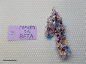 pendente ROSA multicolors