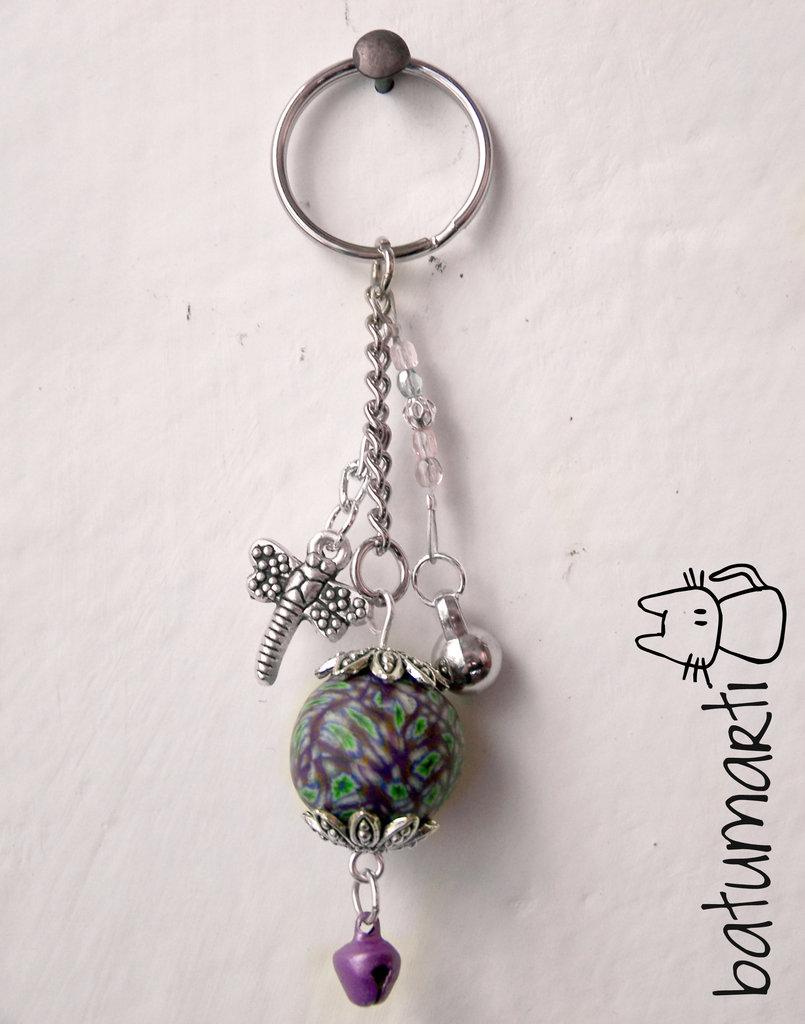 Portachiavi viola - Violet keychain