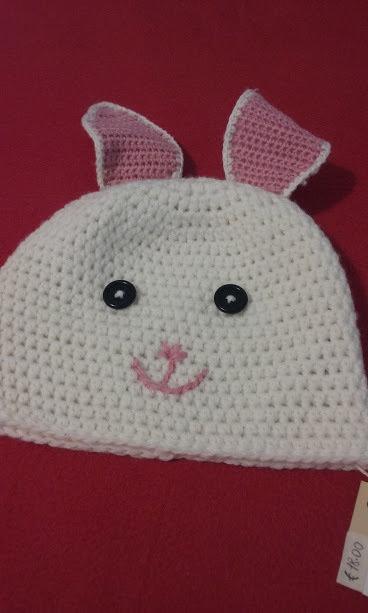 cappello bimba uncinetto lana
