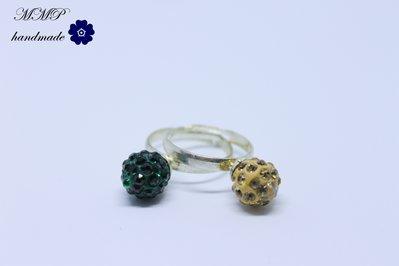 anelli sfere cristalli