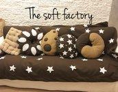 Cuscino biscotto pan di stelle gocciola abbraccio