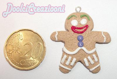 Omino Biscotto!!! Ciondolo Grande
