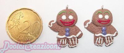 Omino Biscotto!!! Ciondolo Piccolo