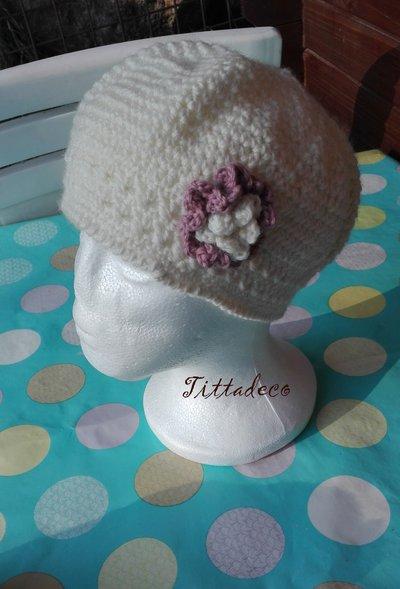 Cappello di lana da bambina