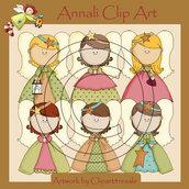 Angelo Custode - Clip Art per Scrapbooking e Decoupage - Immagini