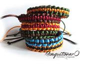 Bracciale unisex macrame, paracord,Bracelet for man,corda di nylon,per lui,per lei,bracciale uomo,polsino,surfer