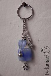Portachiavi onda blu - Blue wave keychain