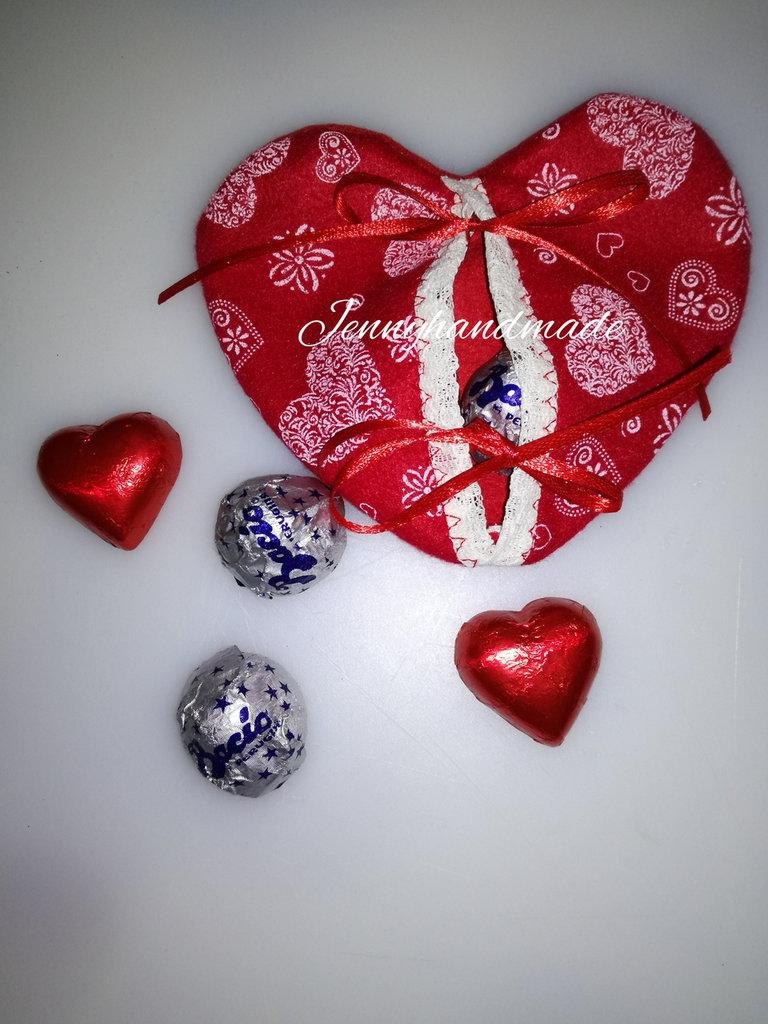 Cuori pannolenci San Valentino