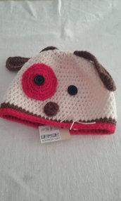 cappello bimbi lana maglia uncinetto