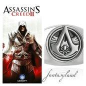 Anello Assassin's Creed color argento