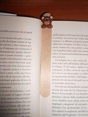 Segnalibro In Fimo Orso Marrone