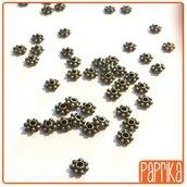 Perline rondella Distanziatori Bronzo 3mm