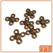 6 Connettori Bronzo 10mm