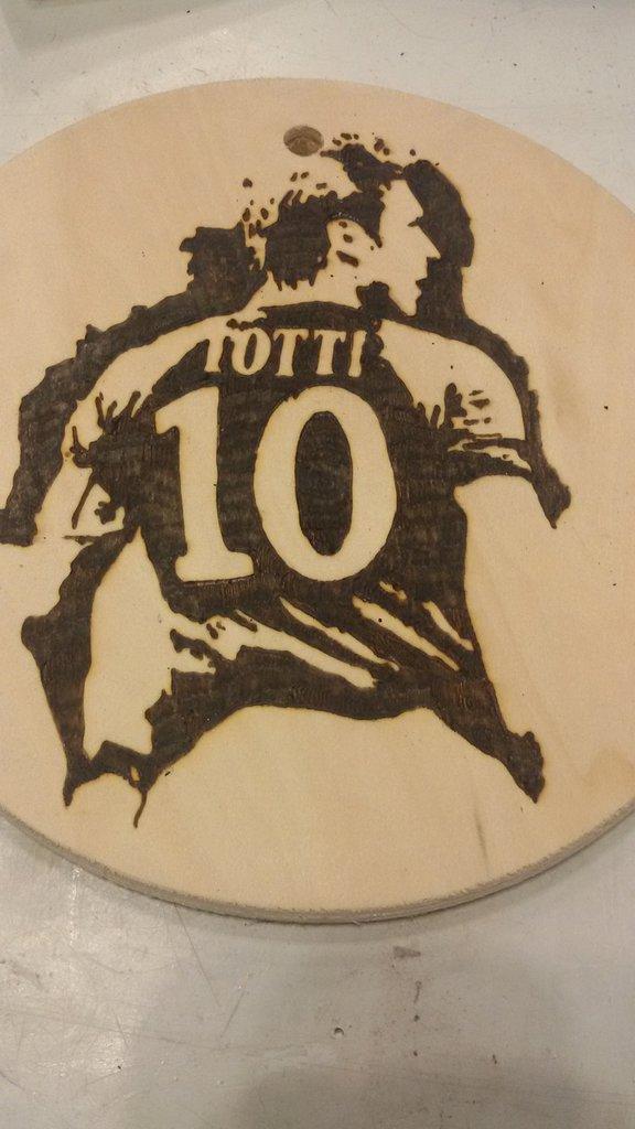 ritratto Francesco Totti