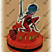 Ladybug torta finta