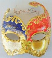 Maschera veneziana modello Colombina 2