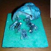 Mini presepe realizzato a mano