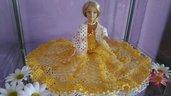 abito barbie uncinetto