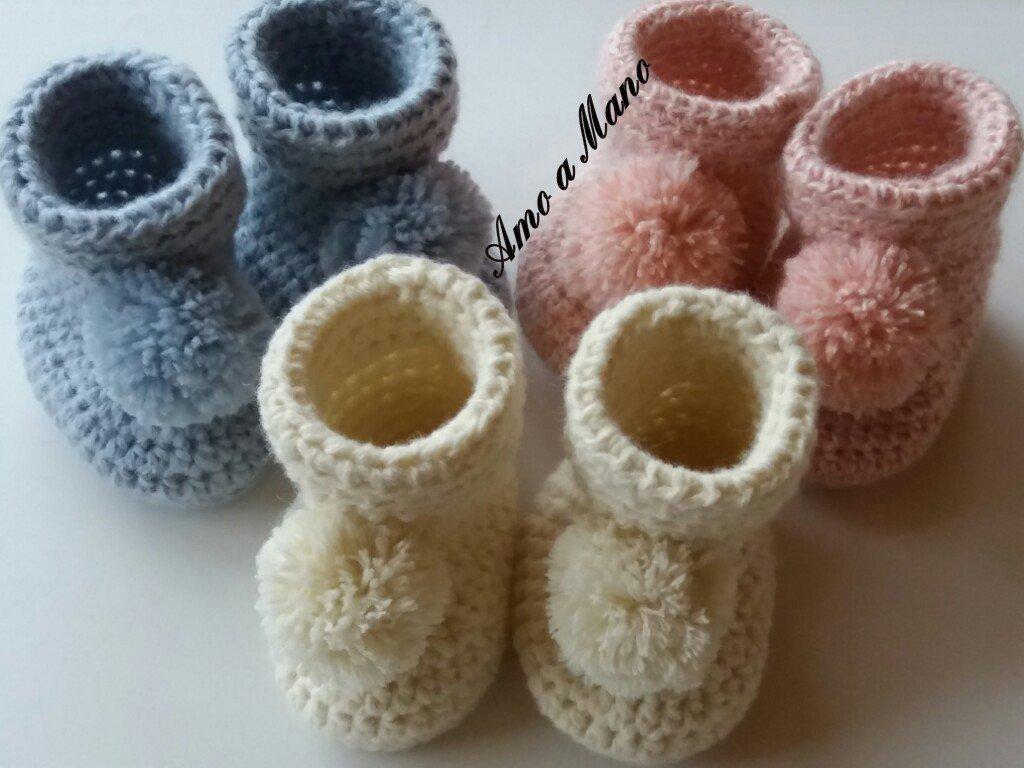 Scarpine Babbucce Per Neonato Bambini Abbigliamento Di Amo