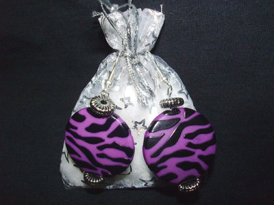 Orecchini maculati + confezione, idea regalo San valentino
