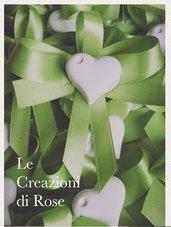 Gessi 100 Segnaposto gessetti profumati cuore matrimonio comunione Cresima
