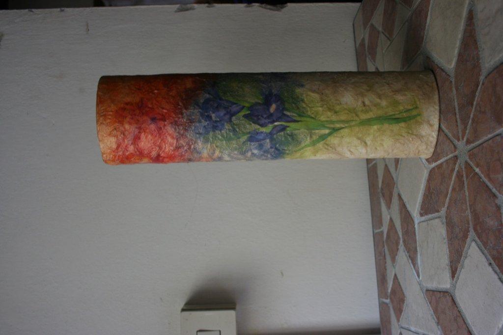 vaso cartapesta