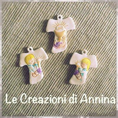 Bomboniera croce Prima Comunione