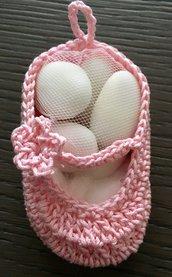 Bomboniera scarpina rosa