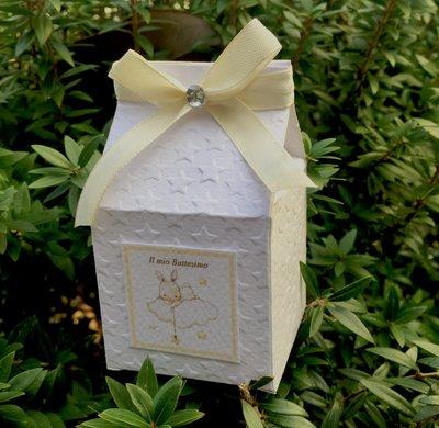 Scatolina porta confetti a forma di latte by Romanticard's