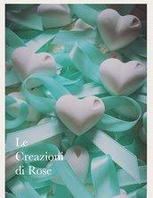 Gessi 50 Segnaposto gessetti profumati cuore matrimonio battesimo comunione Cresima