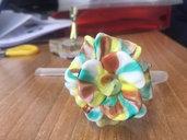 Fiore, pezzo di ricambio per lampadari di Venini e non, con pezzi rotti o danneggiati