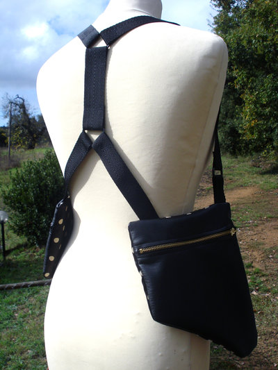 hOLSTER bAg_similpelle_triangoli
